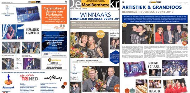 Winnaars Bernheze Business Event 2017
