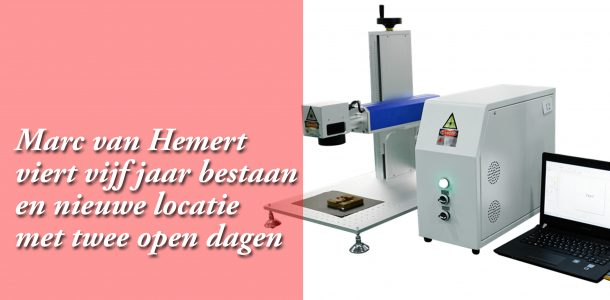Lasertechniek Nederland viert nieuwe locatie en vijfjarig bestaan