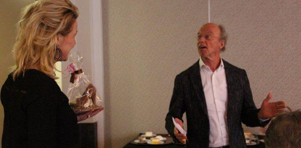 Bob Hutten en Rachel van de Greef op dreef