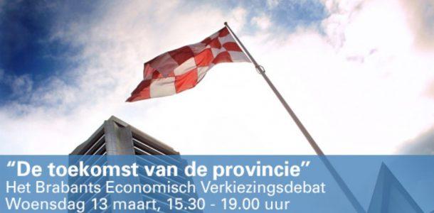 Uitnodiging verkiezingsdebat 'De toekomst van de provincie'
