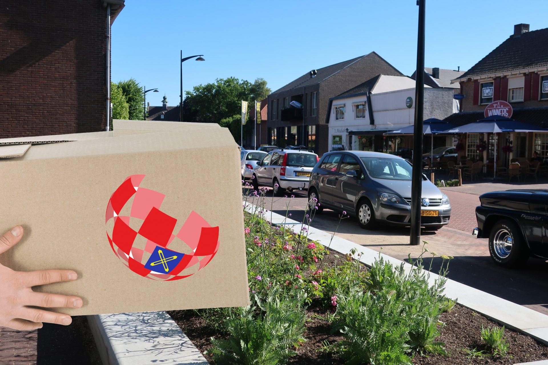 OVN Pakketdienst - straatbeeld