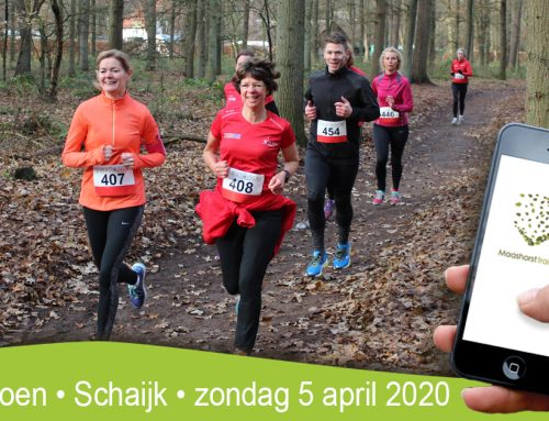 Business Trailrun: sportief feestje in de Maashorst op 5 april