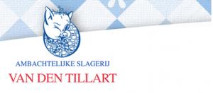 Banner OV Nistelrode ambachtelijke slager Van den Tillart