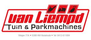 Banner OV Nistelrode Van Liempd tuin en parkmachines